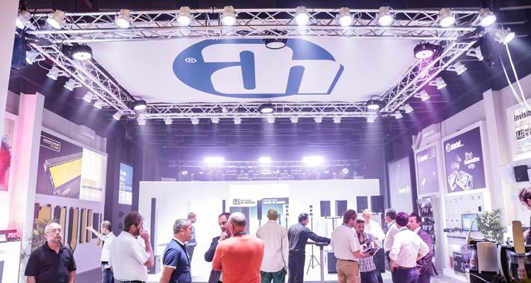 Nuevo showroom de Adam Hall en Barcelona