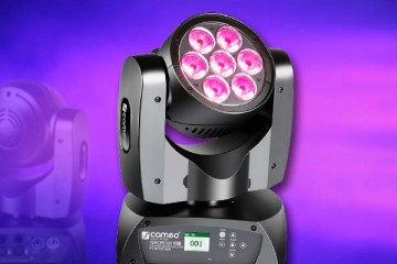Cameo AuroBeam 150, cabeza móvil LED