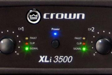 Crown Audio XLi3500