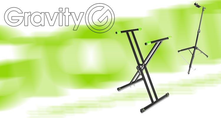 Gravity Stands, soportes innovadores para instrumentos y escenarios