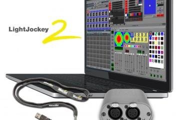 Interface Martin Professional M-DMX para control de sistemas de iluminación