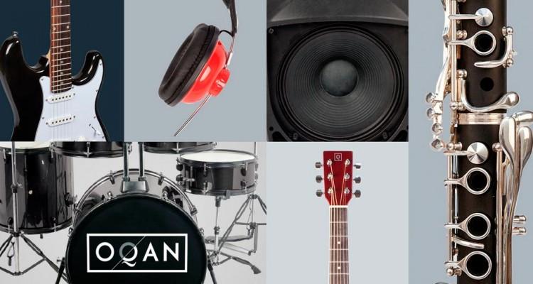 OQAN aúna calidad y precios imbatibles en audio, accesorios e instrumentos