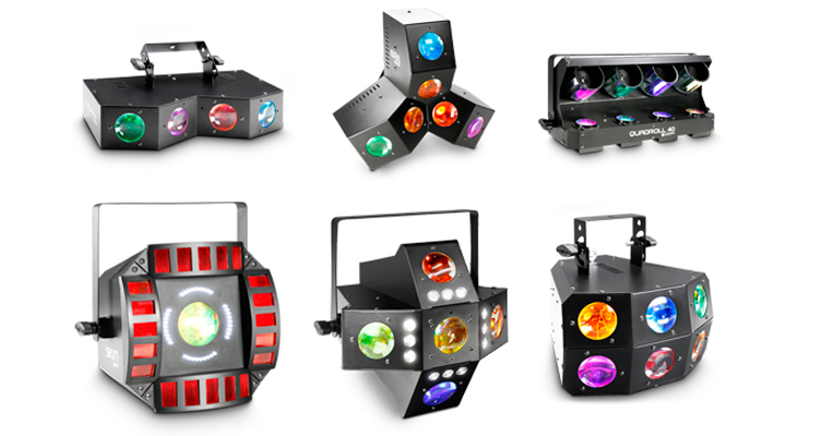 Gama Cameo de proyectores de efectos inteligentes con tecnología LED