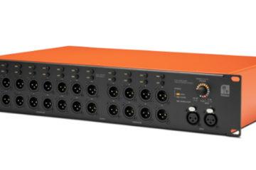 Palmer Grand Audition MKII, conmutador de 24 canales en modalidad 16 salidas mono/ ocho estéreo