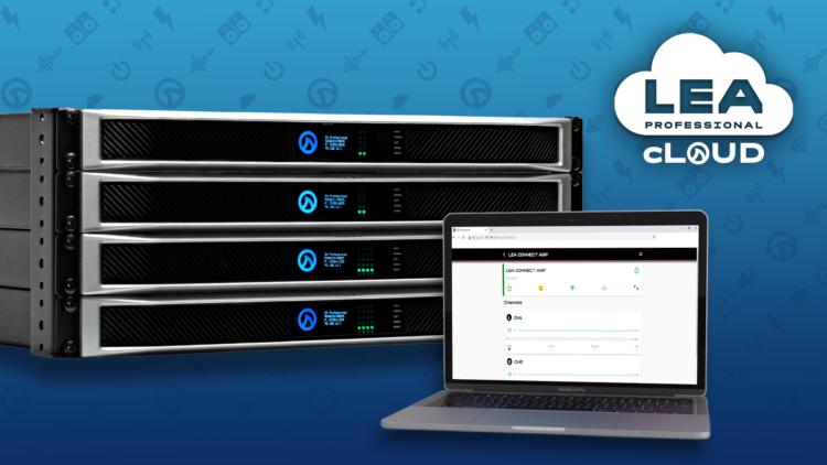 Webinar gratis de LEA Professional: Configura tus amplificadores y gestiona su operación en remoto desde la nube