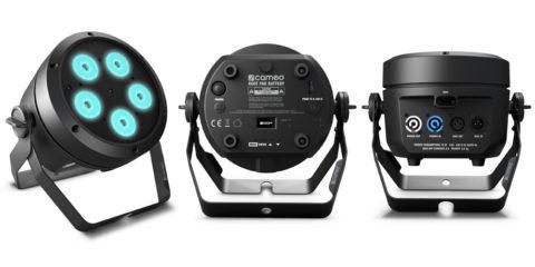 Cameo ROOT PAR Battery, un foco profesional LED RGBW con alimentación a pilas y conectividad W-DMX