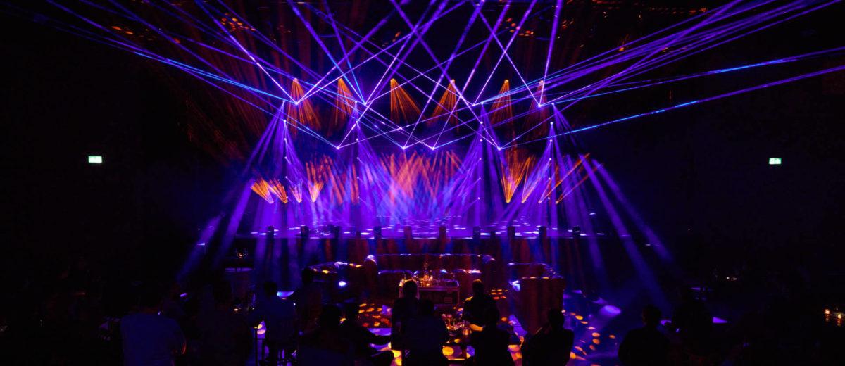 We Are Live, show de iluminación